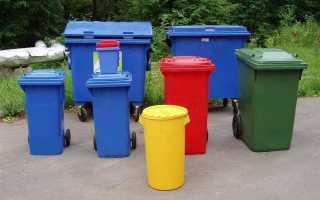 Какие бывают контейнеры для мусора