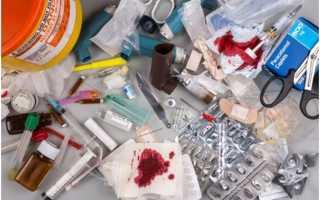 Как утилизируются медицинские отходы