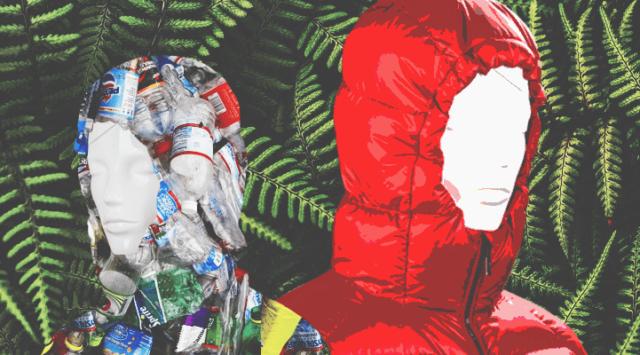 Одежда из пластика