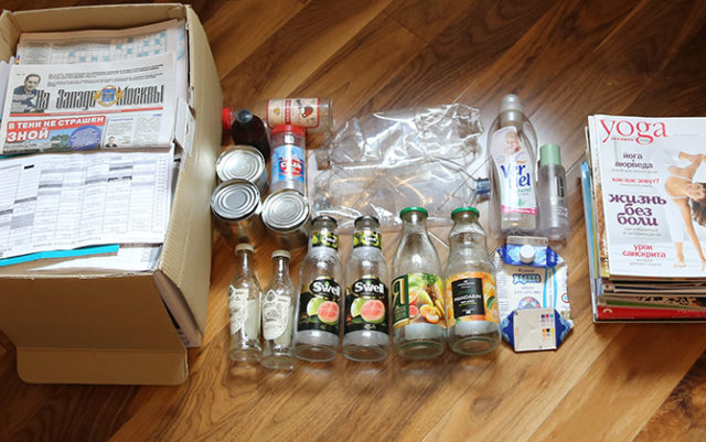 Сортируем отходы