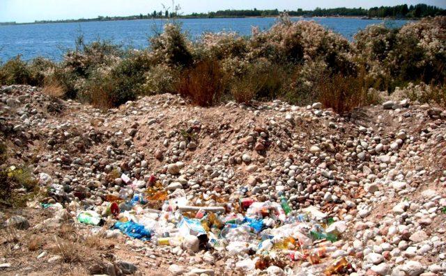 Загрязнение земель