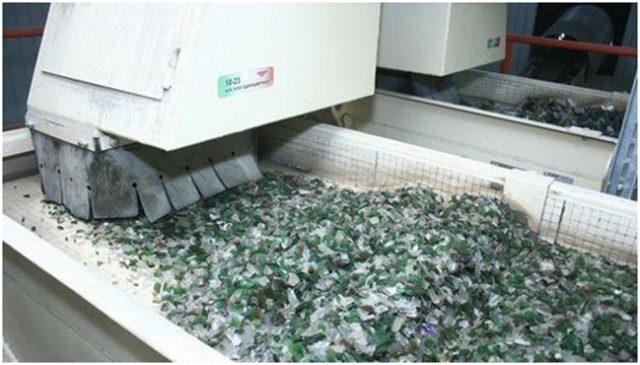 Переработка стеклянных бутылок