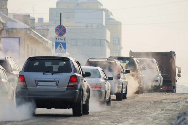 Загрязнение от автомобилей