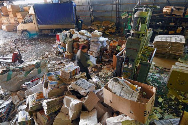 Заводы по переработке бумаги