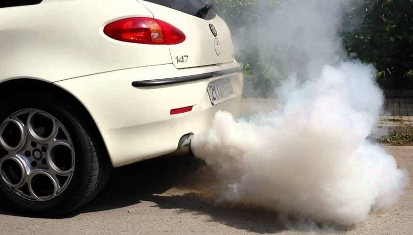 Загрязнение воздуха автомобилем