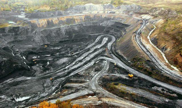 Угольные залежи