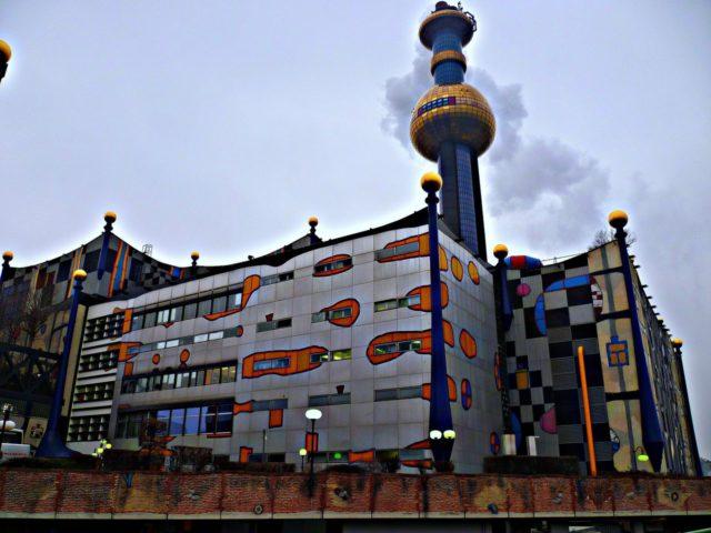 Мусоросжигательный завод в Австрии