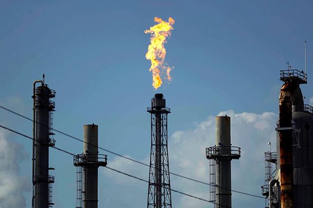 Горение нефти